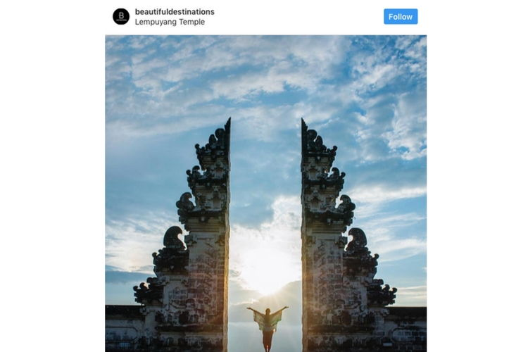 Image of @beautifuldestinations instagram account