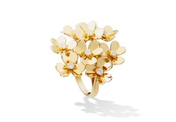 Image of Van Cleef & Aprels Frivole ring