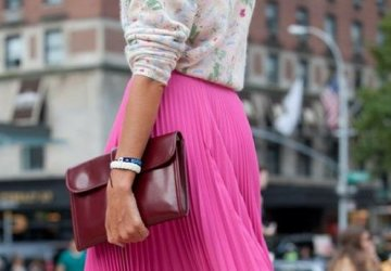 Pleats fall trend