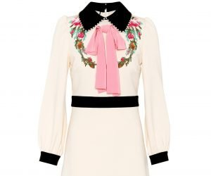 Gucci crepe dress