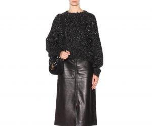 Isabel Marant leather skirt