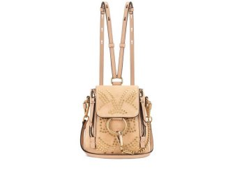 CHLOÉ Faye Mini studded suede backpack € 1,620