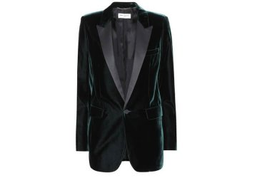 SAINT LAURENT Velvet blazer € 2,075
