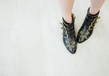 These Isabel Marant boots are the perfect pair for fall