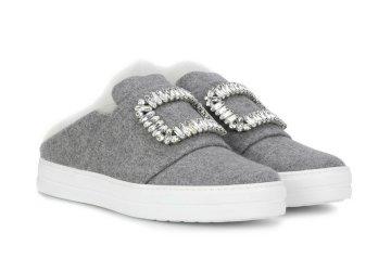 ROGER VIVIER Sneaky Viv' fur-lined sneakers