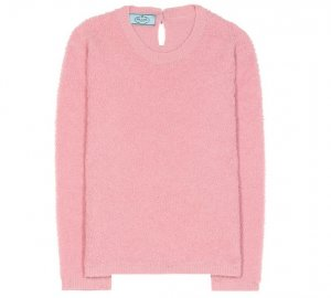 PRADA Alpaca and cotton-blend sweater