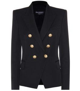 Balmain wool blazer jacket