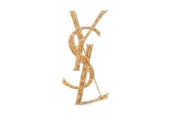 SAINT LAURENT Opyum YSL engraved brooch € 305