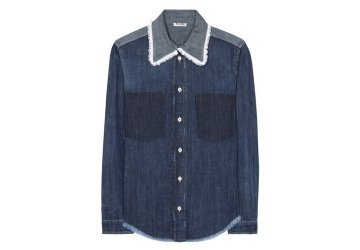 MIU MIU Denim shirt € 585