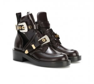 BALENCIAGA Ceinture leather derby boots € 1,025