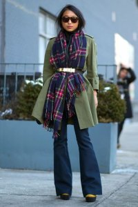 Creative ways to wear scarves during winter