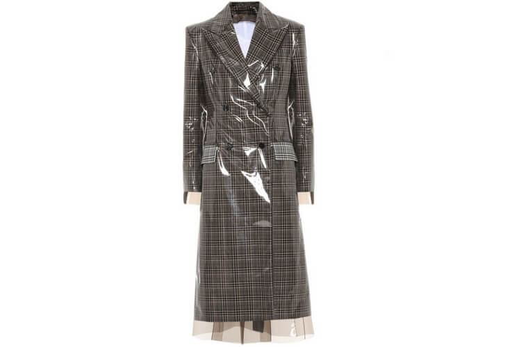 Calvin Klein wool coat one of our favourite pieces this season.