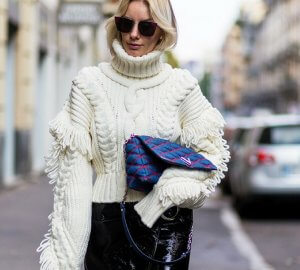 Sophisticated sweaters you could wear in the office.