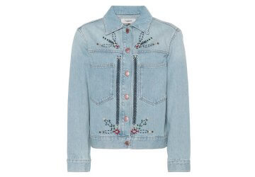 A must have for spring this Isabel Marant jacket will compliment your look.
