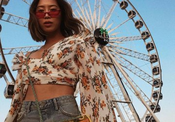 Coachella is one of the most famous music festivals in the world but it's also known for the unique style of it's visitors. See our favourite looks from this year's festival.