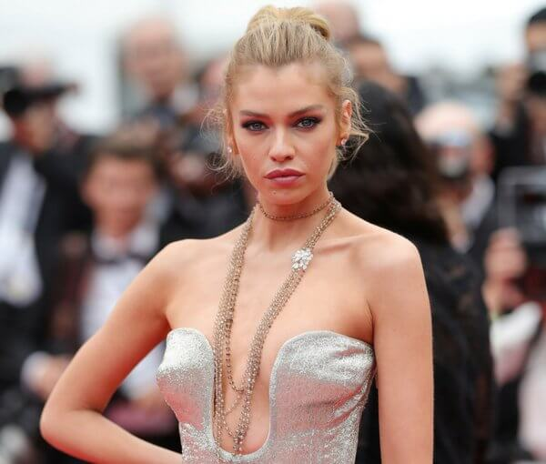Stella Maxwell attends the 71st annual Cannes Film Festival at Palais des Festivals on May 10, 2018 in Cannes, France.