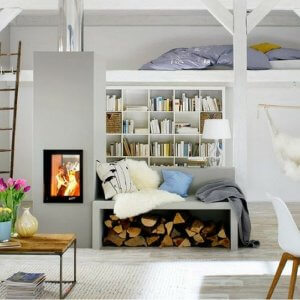 You can have cozy and functional living space with these few interior design tips.