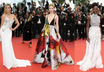 The red carpet looks of the 71st annual Cannes Film Festival at Palais des Festivals on May 10, 2018 in Cannes, France.