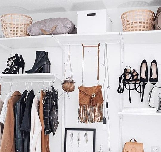 How to organise your shoes comes down to thinking outside the box and utilizing unique spaces you may not have considered before.