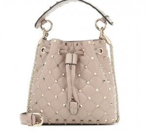 If you're looking for a great summer bucket bag this piece by Valentino is everything you expect.