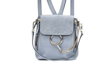 Chloe backpack to accompany your summer outfits.