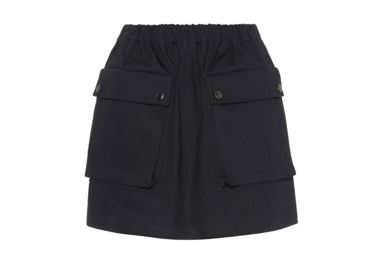 This Miu Miu skirt will keep you comfy and chic all summer long.
