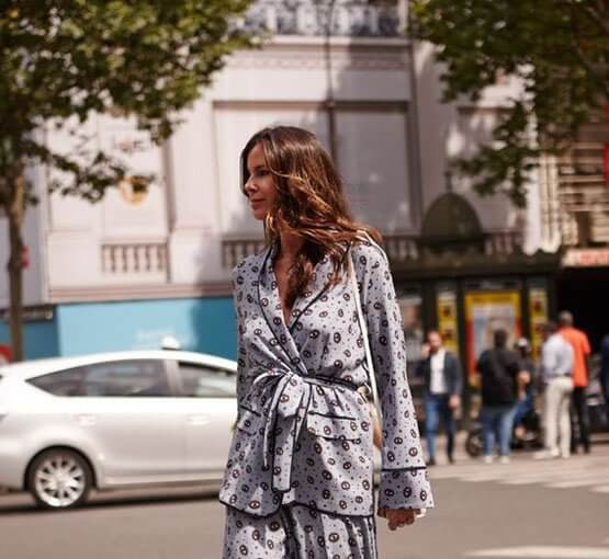 Silk pyjamas are one of fashion girls favourite trend for the past seasons because of their comfort and chic. See how to style and wear them this season.