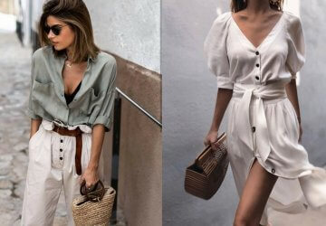 Street style inspired by the fashion influencers on the Instagram social network.