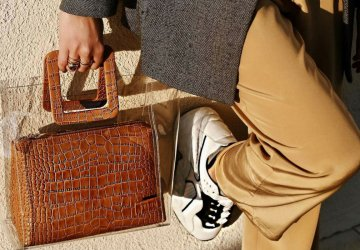 We can certainly say that one of the classic luxe trends is making a return this season, and it's guaranteed to make any item and outfit look more expensive: embossed croc.