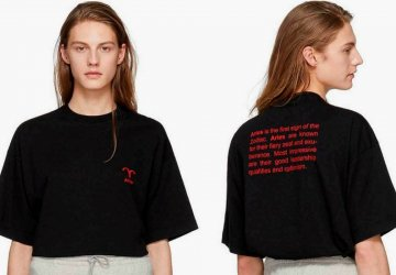 Do you remember those zodiac raincoats that Vetements created? Now fans of the label and astrology can buy a Vetements T-shirt with their own zodiac sign.