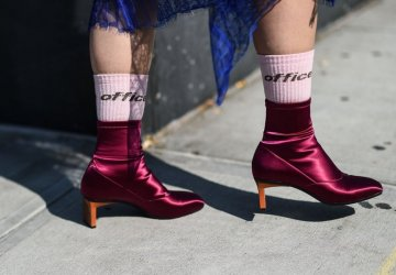 """Socks and sandals are a combination that fashion girls wear all year round and it's currently our favourite """"ugly"""" trend."""