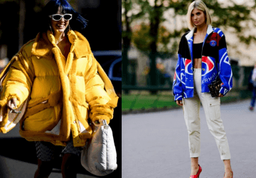 Street style looks give us not only courage but also the desire to fill in our wardrobe with one of these colourful jackets - short, satin, denim or puff.