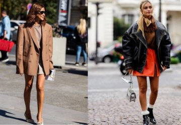 """""""Oversize everything"""" falls into one of the biggest trends for the season, and in its design, designers not only play with the volume of clothing."""