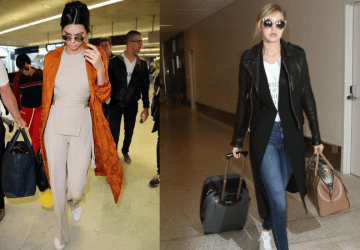 We find ourselves confused about what to wear when we travel but there are the celebrities who always seem to have the airport style nailed.