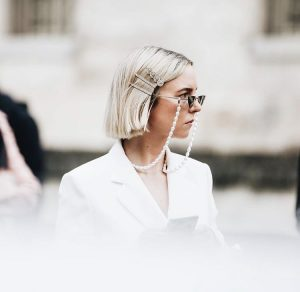 """If there is a single beauty trend that we are very excited about this season, and we would try out in person, it would be the """"Scandinavian"""" blond hair."""