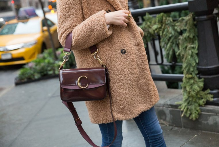 The new Chloe C bag is the most talked about piece this season, after being spotted in many street style shots and our editors are obsessed.