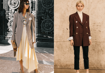 The designers made the boxy blazer a must have few seasons ago, and the worshipers of the silhouette put it on a pedestal in the street style.