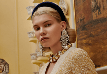 Similar to the leopard print and bright colors, this season yellow and the 80s have their strong presence in the trends we're all going to wear.