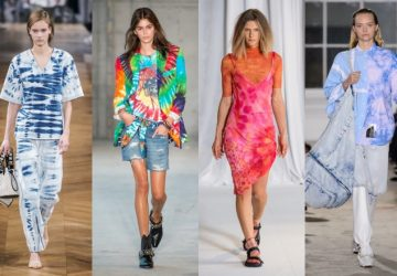 We're now experiencing the great return of TIE-DYE effects take over our closets. This season, the brands are taking this trend to the next level.