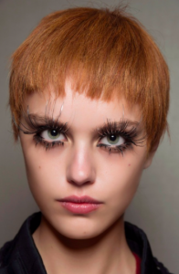 The lashes this season are more special than even with different colors and lots of drama.
