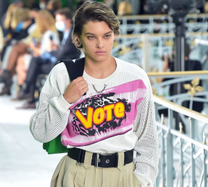 Louis Vuitton presented the Spring-Summer 2021 Collection by Nicolas Ghesquiere at Samaritaine in Paris on, October 6th.