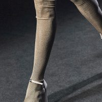 Colored tights are a must have in fall closet.